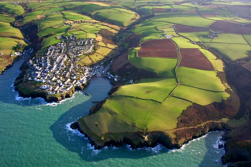 Port Isaac from above | by snowyturner
