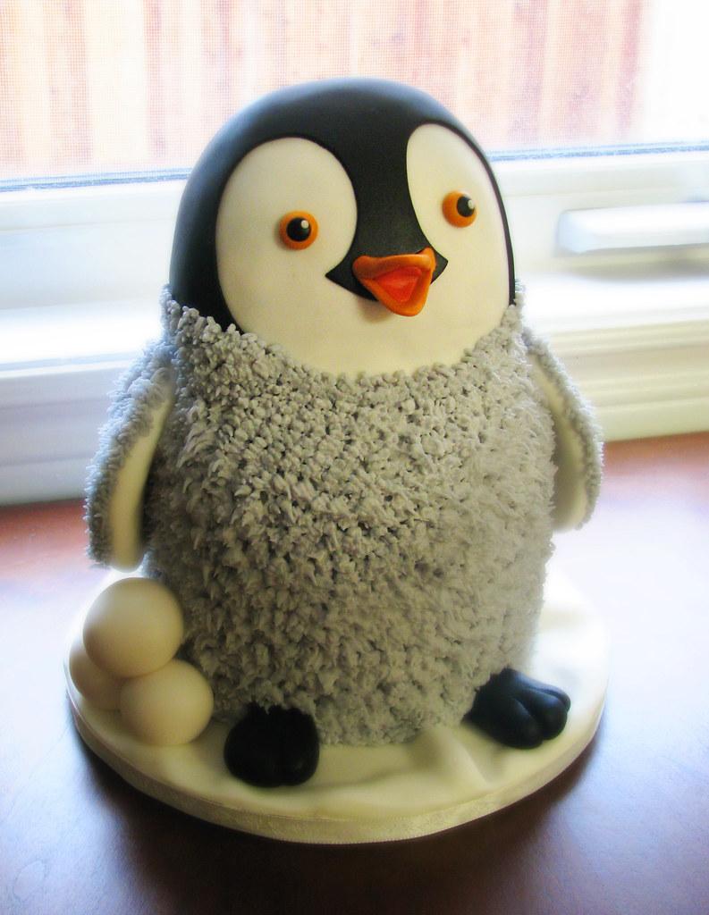 Penguin Cake Pan