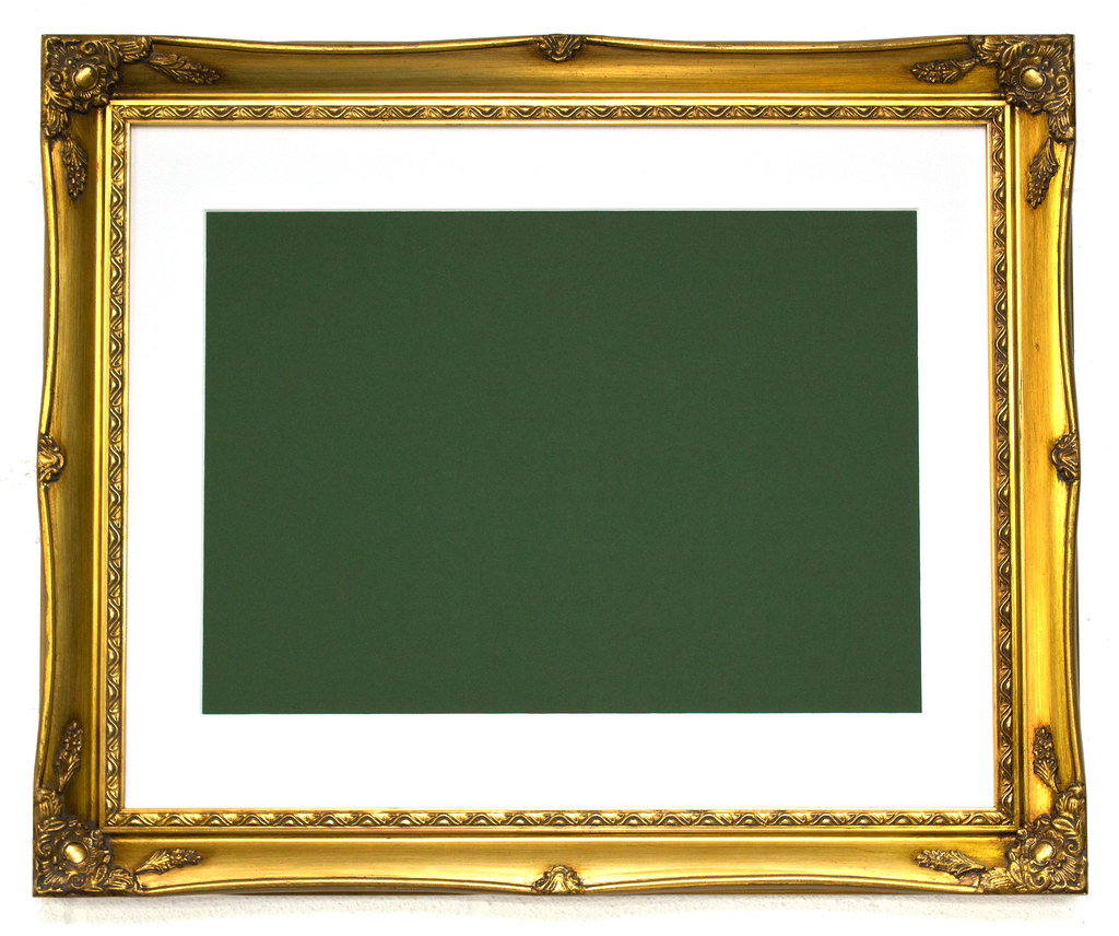 Free brushed gold frame template | Feel free to use this fra… | Flickr