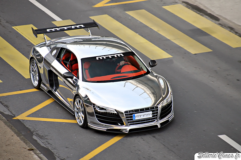 Audi A >> Audi R8 V10 MTM Biturbo | Mirror on road You can also follow… | Flickr