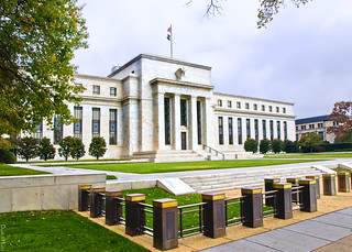 Federal Reserve Building in Washington D.C. - Illustration | by DonkeyHotey