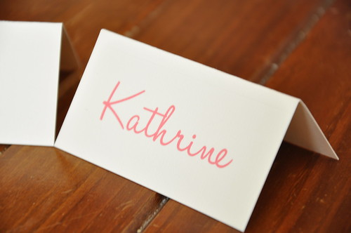Place Cards | by House of Lane