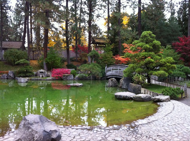 Japanese Garden In Spokane Flickr Photo Sharing