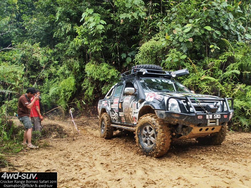 Borneo Safari 2011 - Day 4 - Isuzu DMAX | Copyrighted photo … | Flickr
