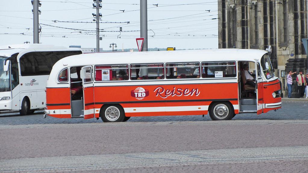 Mercedes O 321h Oldtimer Bus Trd Reisen Follow Me Fahrz Flickr