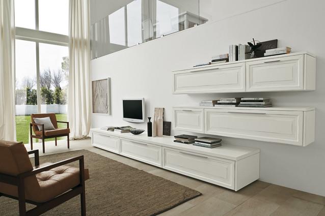 Soggiorno in larice bianco soggiorno classico l cm antu flickr