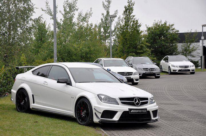 C63 Amg White on Black White Mercedes C63 Amg