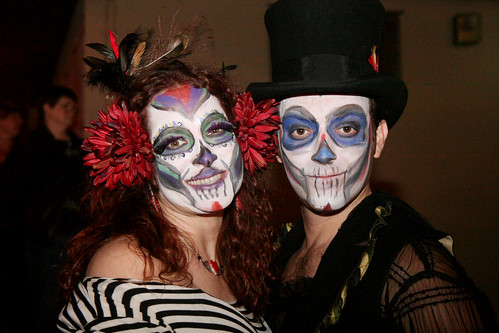 day of the dead makeup couple - photo #22