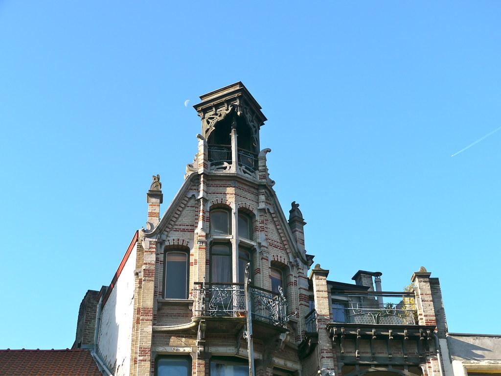 Bruxelles, Belgique: maison Van Dijck, de style Art nouvea… | Flickr