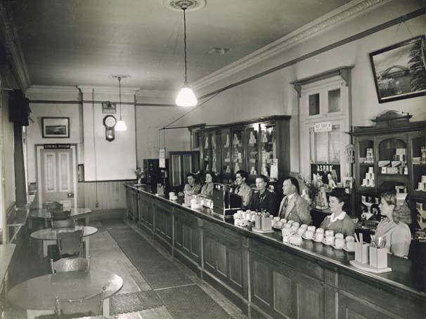 Bathurst Railway Refreshment Room Interior Title
