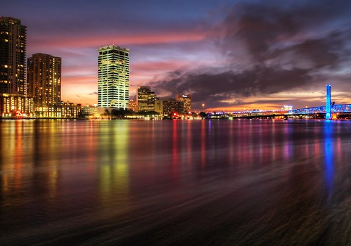 Jacksonville Riverwalk Sunset | by Krazy Diamnd