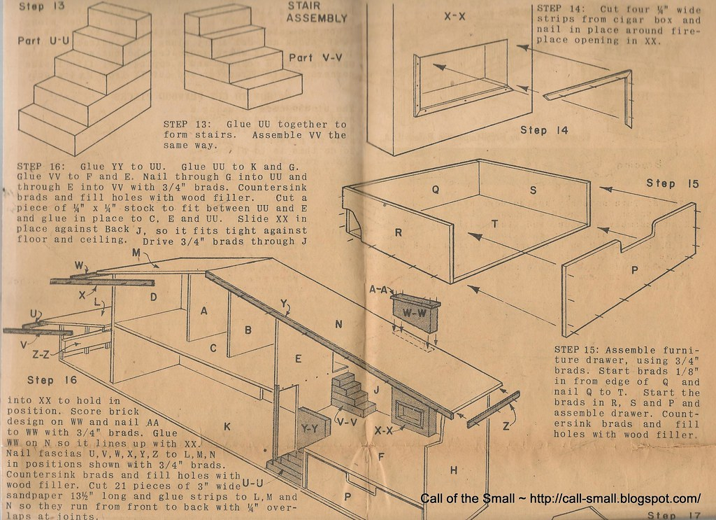 Page 7 betsy mccall dollhouse plans call small flickr for Dollhouse building plans free