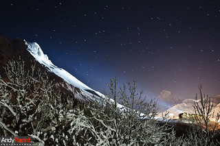 Tignes by night | by andyparant.com