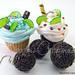 Cupcake e brigadeiro (Bozzi Super Polymer Clay)