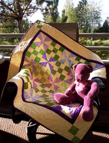 Scrappy baby quilt | by sassypacks
