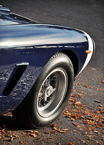 Autumn Reflections... Stirling Moss' 1961 Rob Walker Ferrari 250 GT SWB C No.7 - 2011 Goodwood Revival | by Motorsport in Pictures