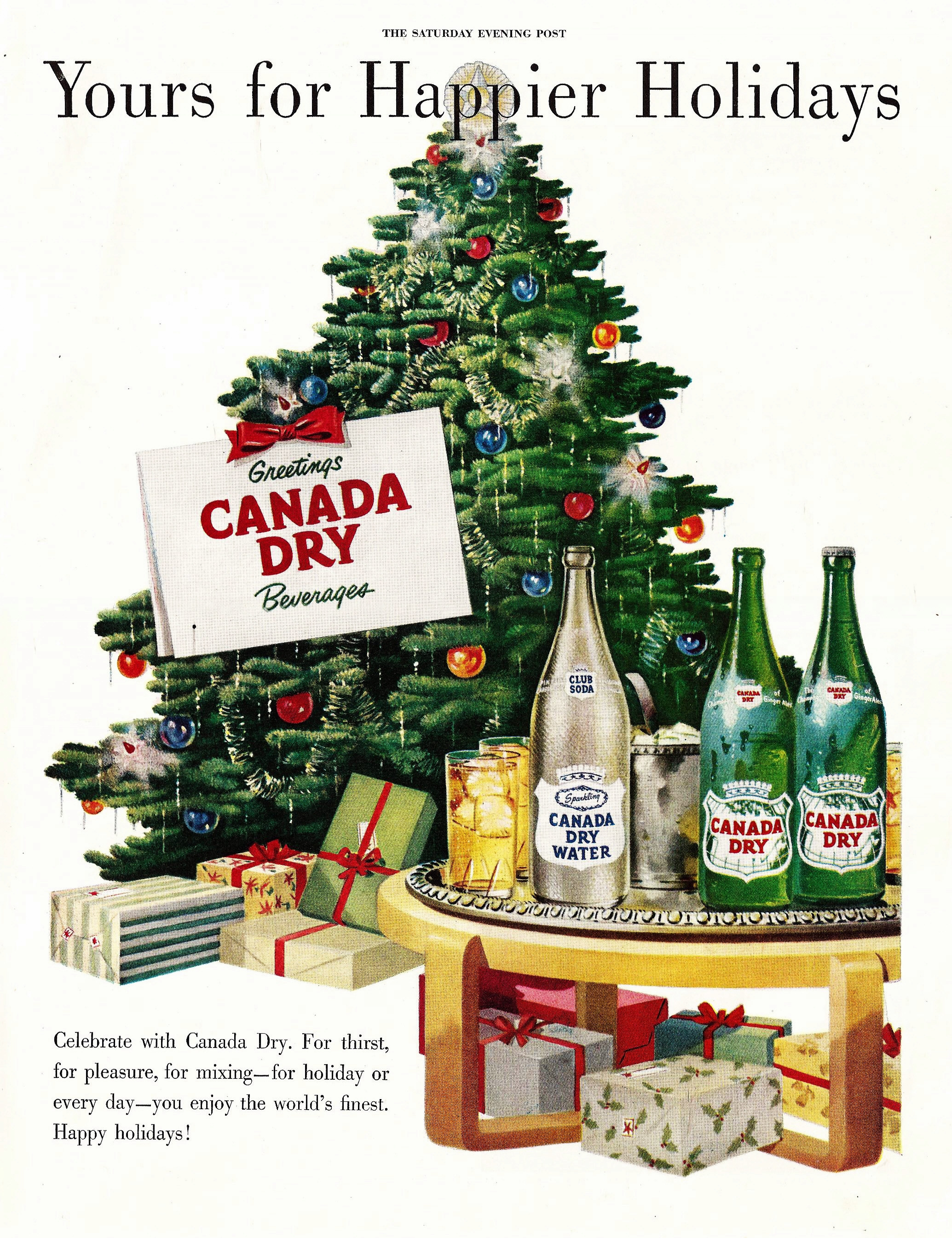 Canada Dry - published in The Saturday Evening Post - 1948