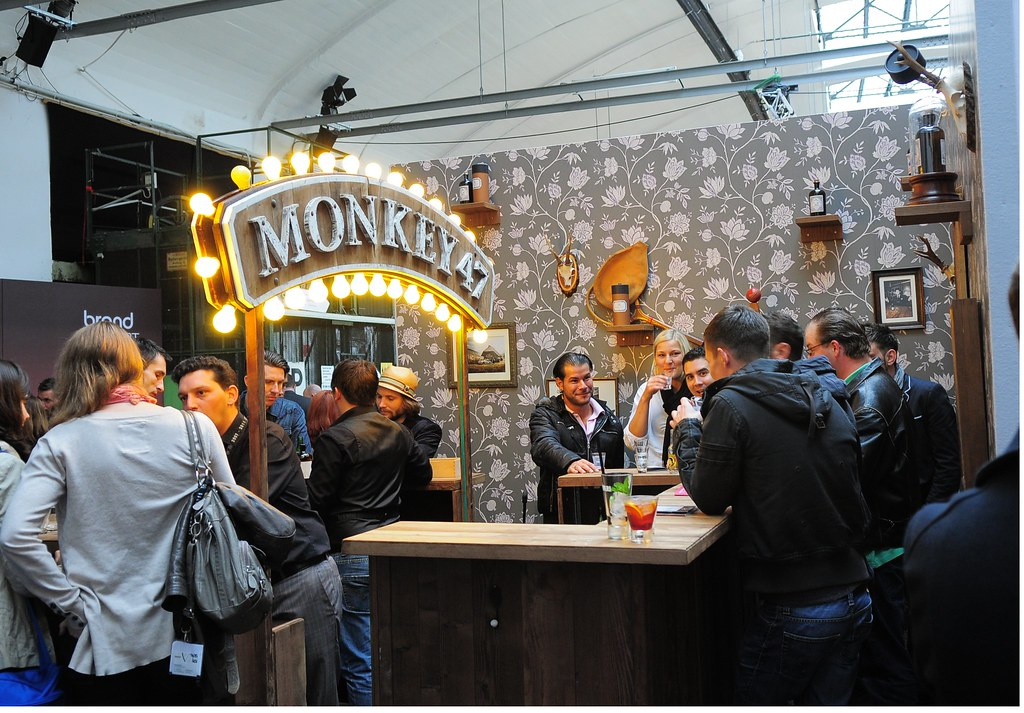 monkey47 monkey 47 bar at bar covent berlin 2011 foto tes flickr. Black Bedroom Furniture Sets. Home Design Ideas