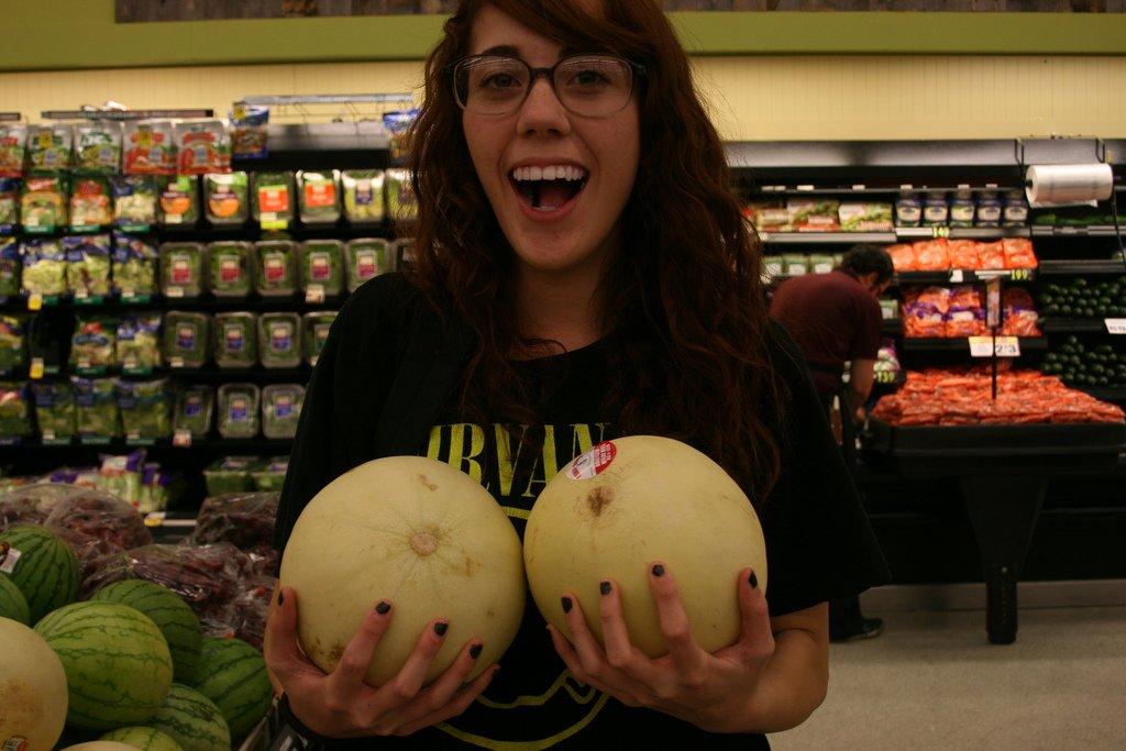 melon boobs