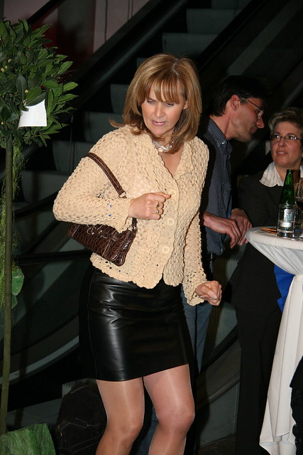 Milf In Tight Leather Skirt  Flickr - Photo Sharing-1496