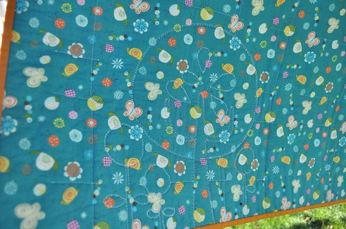 Little Happier Tree Quilt - back of tree | by Diane {from blank pages...}