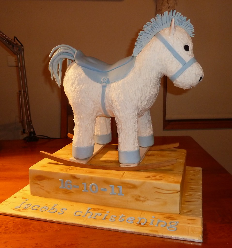 3d Rocking Horse Cake Yes This Is Cake Around 90