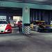 Ferrari's in the garage