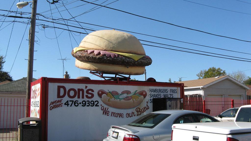 Chicago Hot Dog Stands Near Chicago