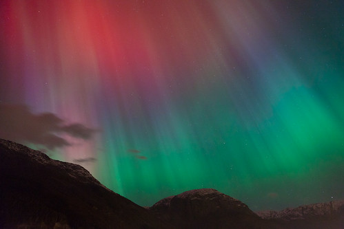 Aurora borealis, Odda Nordlys | by Dag Endre Opedal