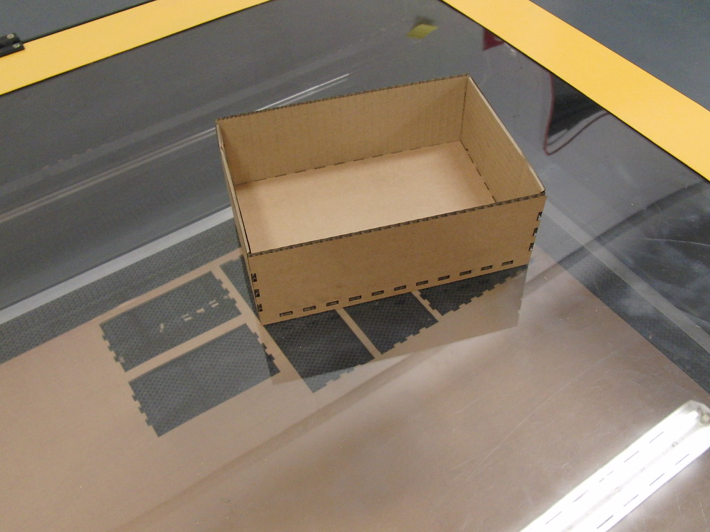 Lasercut box | Heres an lasercut box that we made with openS… | Flickr for Laser Cut Cardboard Box  143gtk