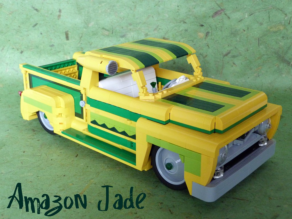 1955 Ford F 100amazon Jade Once Again I Am Competing In Flickr F100 Paint By Lino M
