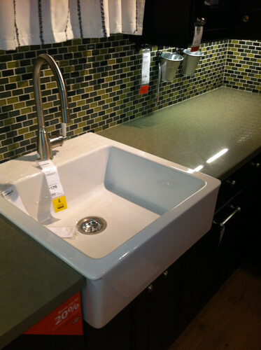 ... Ikea DOMSJO Farmhouse Sink | By Cjinteriors