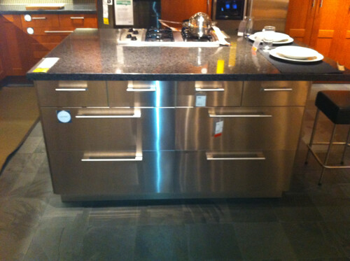 Ikea Stainless Steel Kitchen Island | This is a great indust… | Flickr