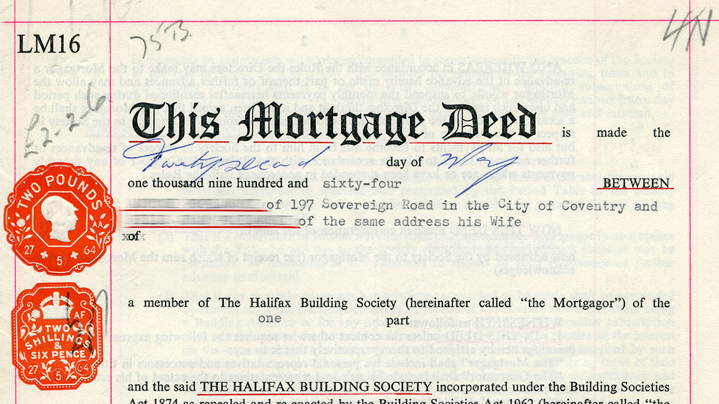 Mortgage deed | by Joybot