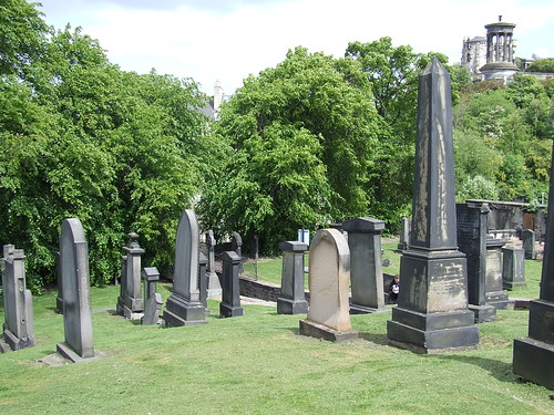 Old Calton Cemetery from American Civil War Memorial | by irishamericancivilwar