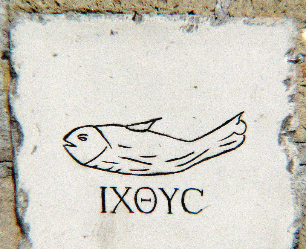 ancient christian fish symbol wwwpixsharkcom images