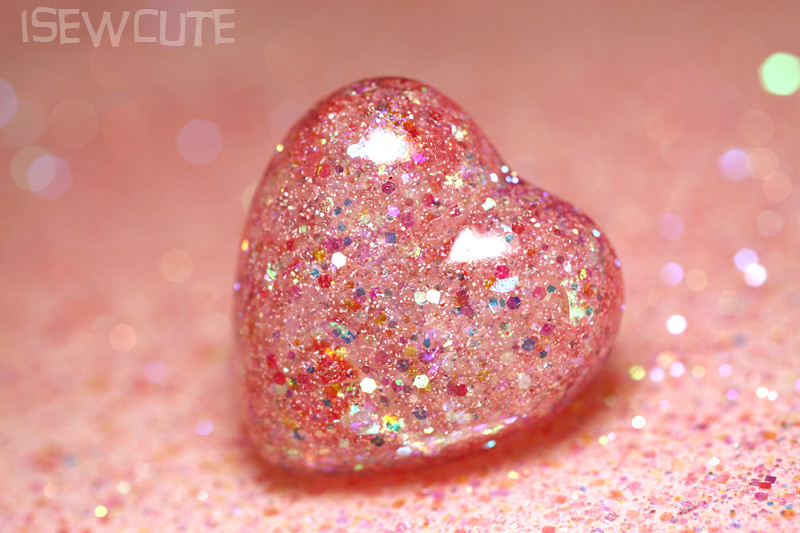 pink glitter heart ring pastel pretty girly cute by isewcu flickr
