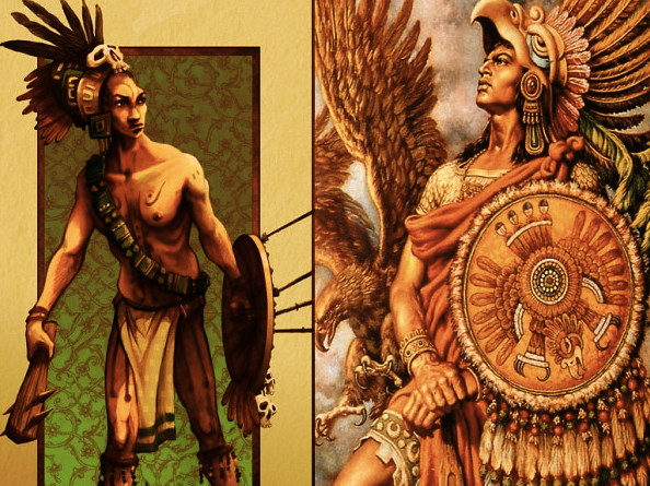 left-to-right-mayan-warrior-aztec-eagle-warrior-dont-forge… | Flickr