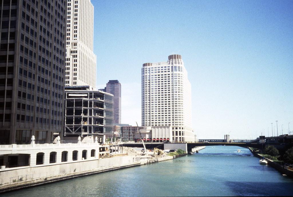 High-rise Buildings Along