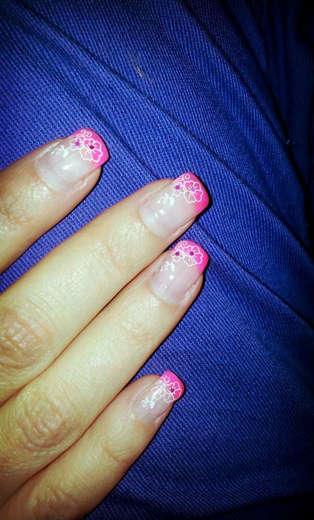 Neon Pinke Nagel Lstrike Flickr