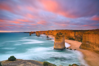 Sunset at Twelve Apostles | by -yury-