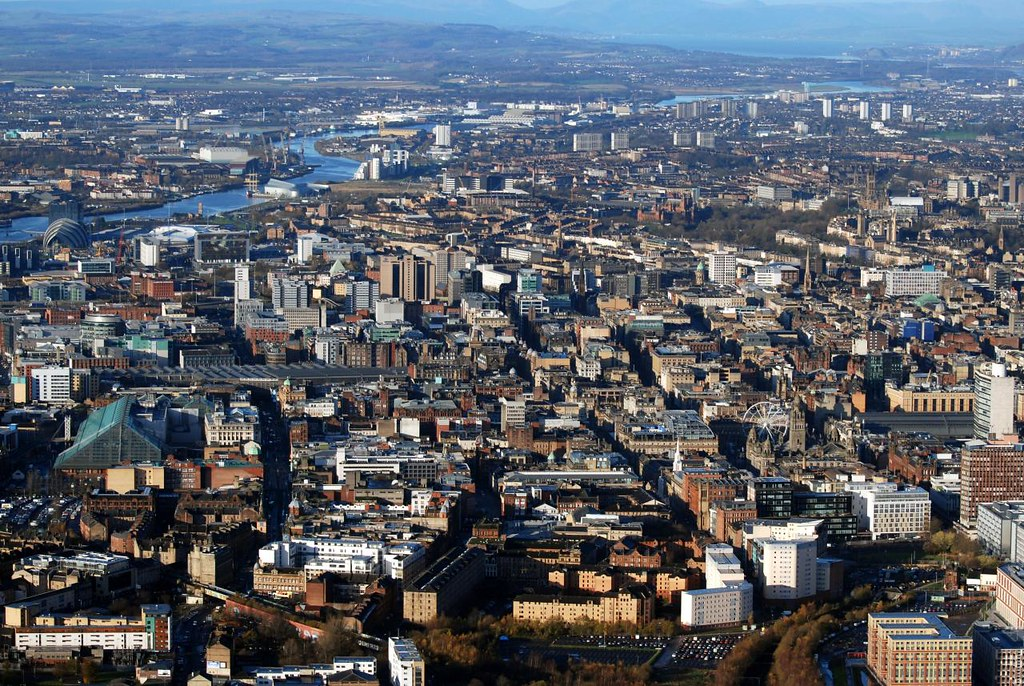 View Over Glasgow  Taken During Helicopter Flight Nov 2011  Flickr