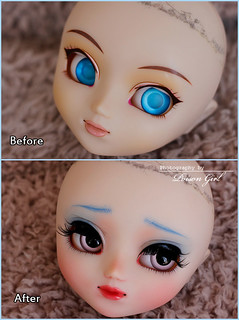 Before & After - Pullip Youtsuzu | by -Poison Girl-
