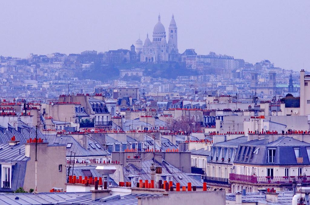 All sizes | Paris, photo depuis le toit de l\'Agence Delprat ...