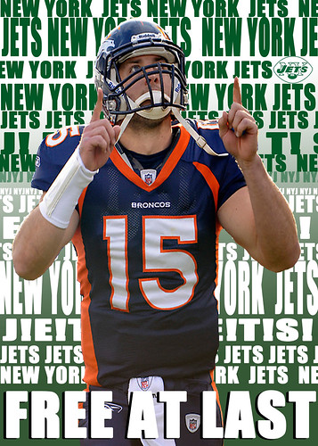 JETS Tebow | by Charles Sollars Concepts