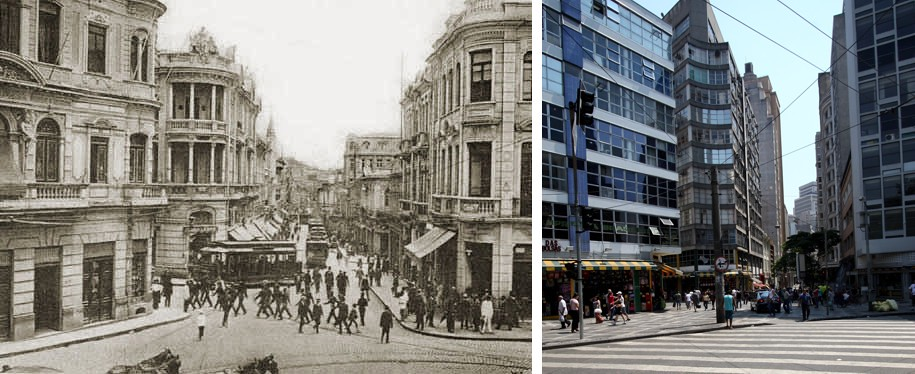 rua XV de novembro - 1910-2011