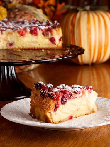 Cranberry White Cake Recipe