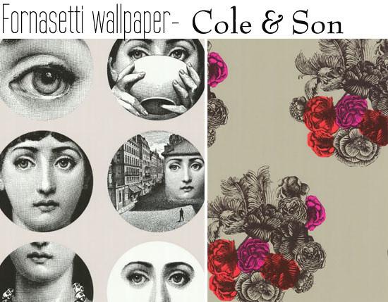 Cole Son Fornasetti Wallpaper