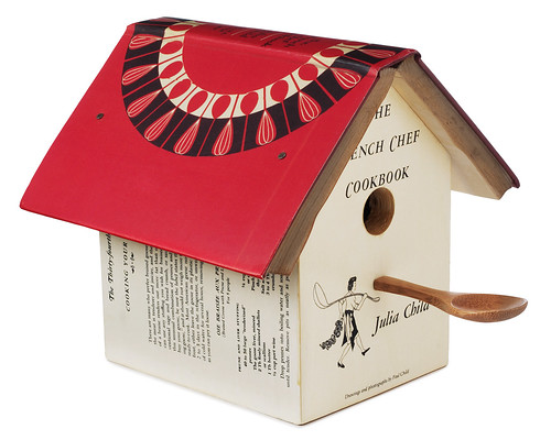 Julia Child Cookbook Birdhouse | by New Inspiration Home Design