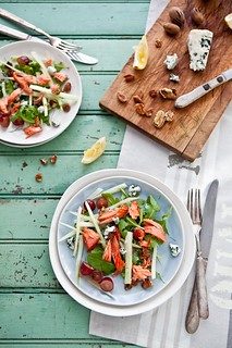 Salmon, Fennel and Grape Salad | by tartelette